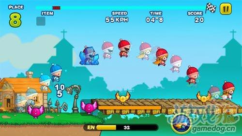 有趣的动作游戏:奔跑小孩 坏小孩与笨小孩的较量2