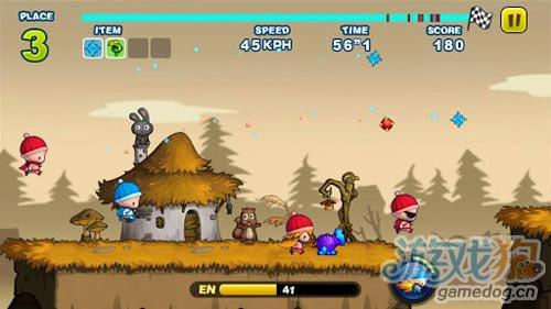 有趣的动作游戏:奔跑小孩 坏小孩与笨小孩的较量5