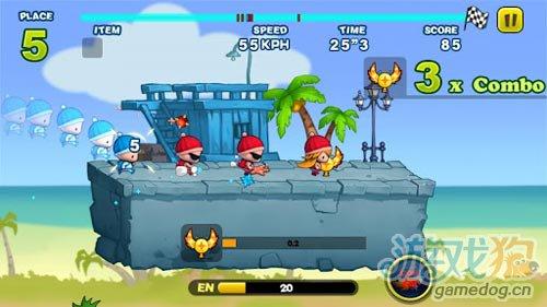 有趣的动作游戏:奔跑小孩 坏小孩与笨小孩的较量3