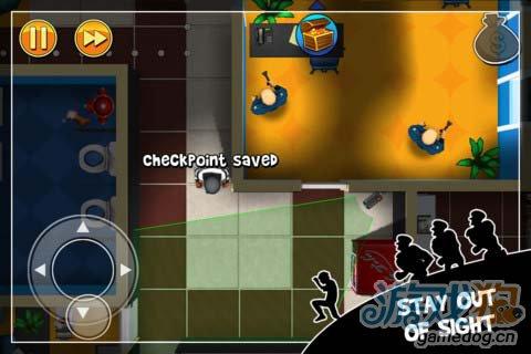 Chillingo动作游戏:神偷鲍勃 偷窃不过是一场游戏3
