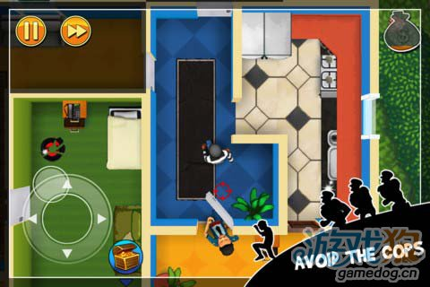 Chillingo动作游戏:神偷鲍勃 偷窃不过是一场游戏2