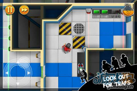 Chillingo动作游戏:神偷鲍勃 偷窃不过是一场游戏5