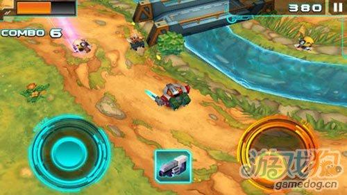 3D动作游戏:机甲格斗2 迷你机甲之战3