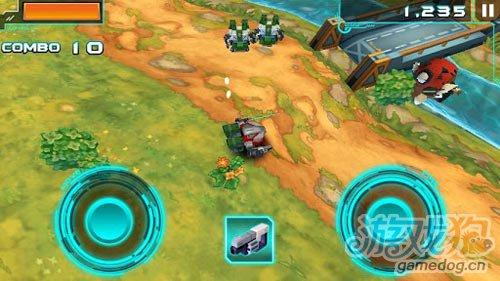 3D动作游戏:机甲格斗2 迷你机甲之战4