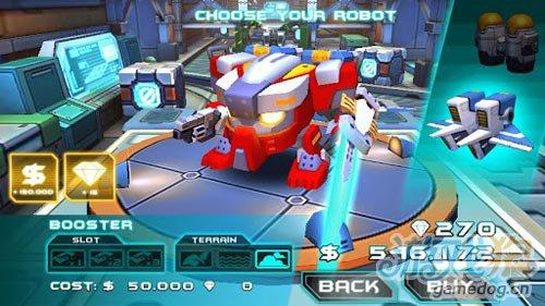 3D动作游戏:机甲格斗2 迷你机甲之战2