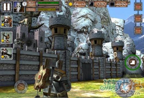 综合类城堡防御游戏Heroes&Castles英雄与城2
