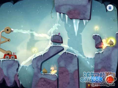 有趣的休闲游戏:蓝精灵消防员 救火英雄3