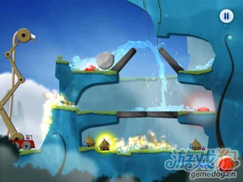 有趣的休闲游戏:蓝精灵消防员 救火英雄5