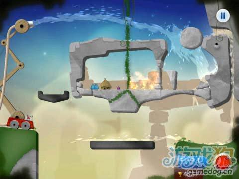 有趣的休闲游戏:蓝精灵消防员 救火英雄4