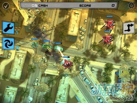 逆塔防游戏:异形地球战区 来消灭敌军3