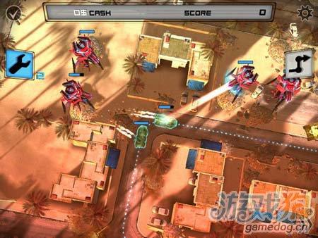 逆塔防游戏:异形地球战区 来消灭敌军2