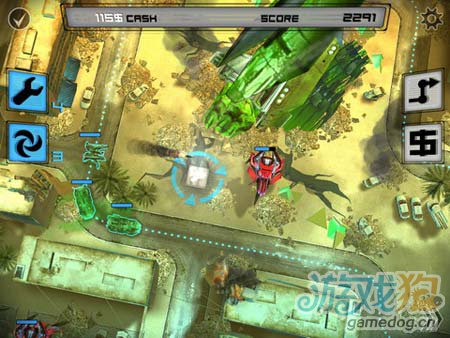 逆塔防游戏:异形地球战区 来消灭敌军5