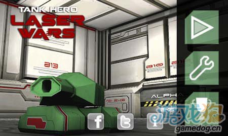 安卓3D射击游戏:坦克英雄激光战争 简约而不简单1