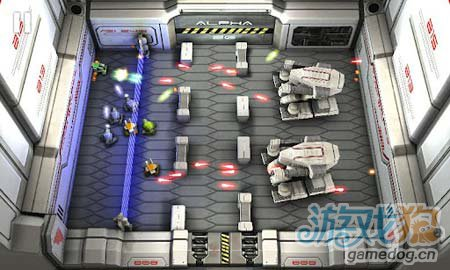 安卓3D射击游戏:坦克英雄激光战争 简约而不简单3