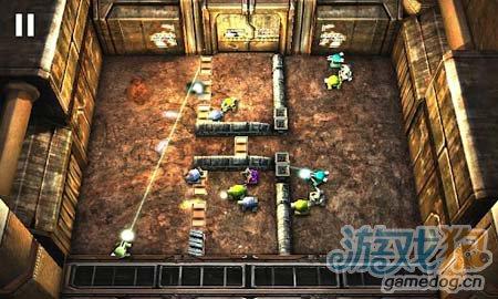安卓3D射击游戏:坦克英雄激光战争 简约而不简单2