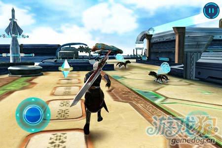 Gameloft魔幻RPG大作:不朽的神迹1