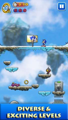 冒险游戏:索尼克跳跃 音速刺猬再上阵2