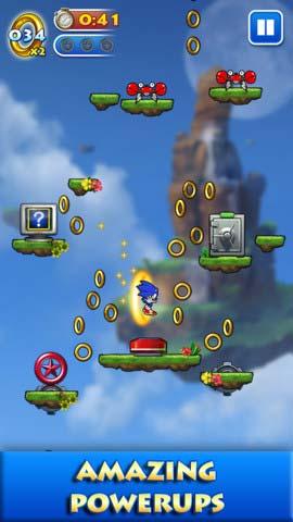冒险游戏:索尼克跳跃 音速刺猬再上阵3