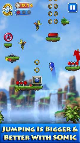 冒险游戏:索尼克跳跃 音速刺猬再上阵1