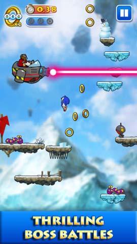 冒险游戏:索尼克跳跃 音速刺猬再上阵4