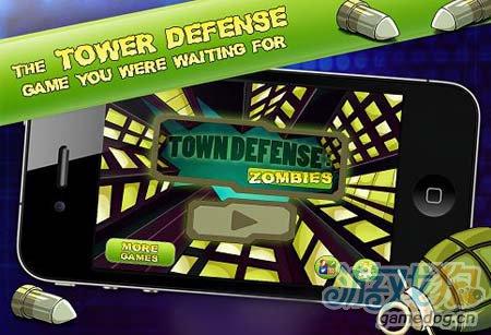 创意十足僵尸防御游戏Town Defense:Zombies1