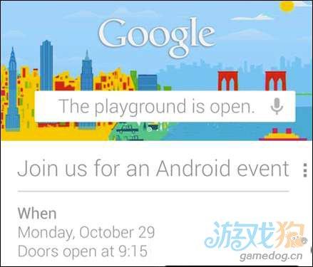 曝谷歌29日发布会还将推Nexus 10平板
