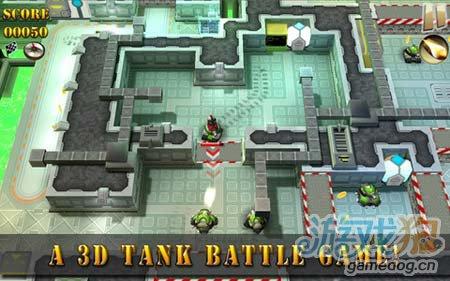 画风清新的坦克大战:坦克骑士 小坦克的战争世界1