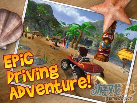 沙滩车闪电战:在沙滩上体验极速越野1