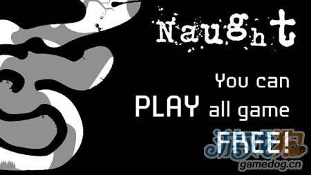 简约黑白风格闯关游戏:零号世界Naught1
