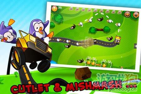 休闲游戏:疯狂大逃亡 企鹅与绵羊们的逃命大联盟4