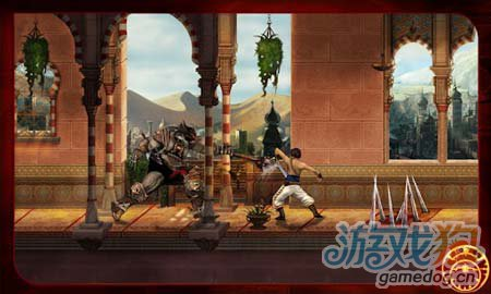 动作冒险游戏:波斯王子经典版 王子的大冒险之路3
