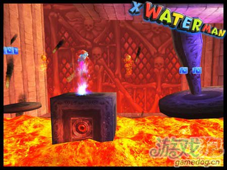 动作游戏:X水人冒险记 你伤不起的山寨版超级玛丽2