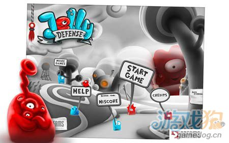 可爱塔防游戏:果冻防御 保卫果冻星球1