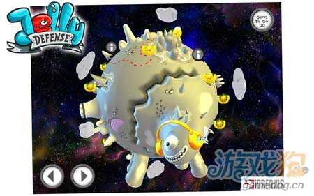 可爱塔防游戏:果冻防御 保卫果冻星球4