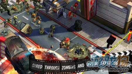 动作游戏:僵尸小镇 从僵尸中杀出血路5