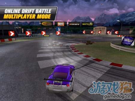 竞速游戏:疯狂漂移2 体验畅快的速度感1
