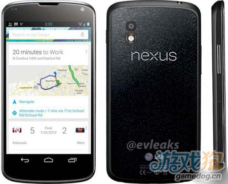 谷歌发布会未至 LG Nexus 4外观设计就得到初披露2