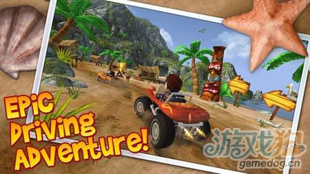 竞速游戏:沙滩车闪电战 挑战你的极限1