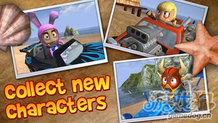 竞速游戏:沙滩车闪电战 挑战你的极限4