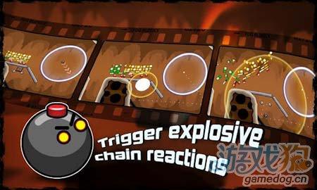 安卓休闲游戏:飞球撞砖Blosics HD FREE 彩砖演义3