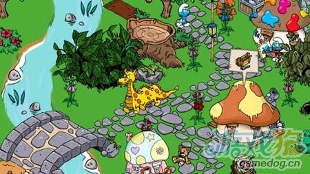 模拟经营游戏:蓝精灵村庄 建造美丽家园1