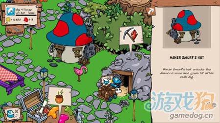 模拟经营游戏:蓝精灵村庄 建造美丽家园4