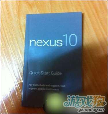 韩国媒体曝出三星Nexus 10平板用户手册