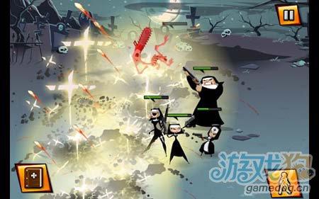 超爽快另类横版射击游戏:修女也疯狂 去拯救世界3