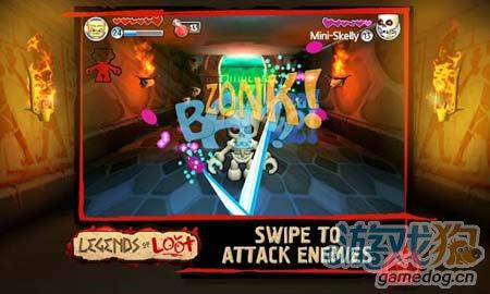 安卓冒险游戏:掠夺传奇 黑暗迷宫的奇特冒险之旅4