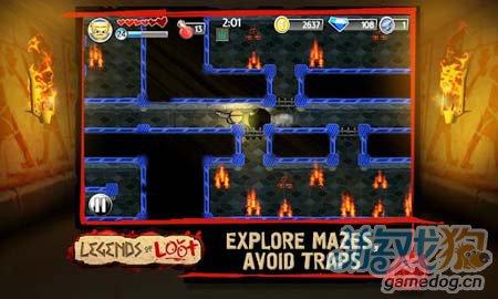 安卓冒险游戏:掠夺传奇 黑暗迷宫的奇特冒险之旅3