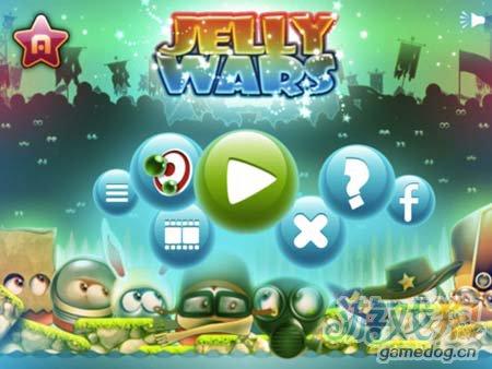 可爱休闲游戏:果冻战争Jelly Wars 为了古老宝藏1