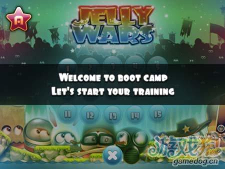 可爱休闲游戏:果冻战争Jelly Wars 为了古老宝藏3