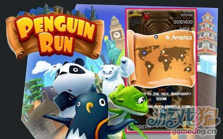 安卓动作游戏:企鹅跑酷Penguin Run v1.0试玩评测1