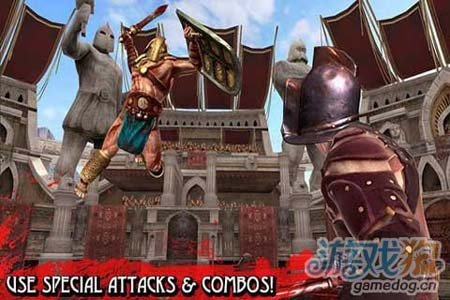 Glu斯巴达式格斗游戏:血之荣耀Blood Glory 评测3